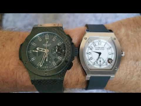 An Unlikely Duo Of Sports Watches.. Hublot Vs. FP Journe