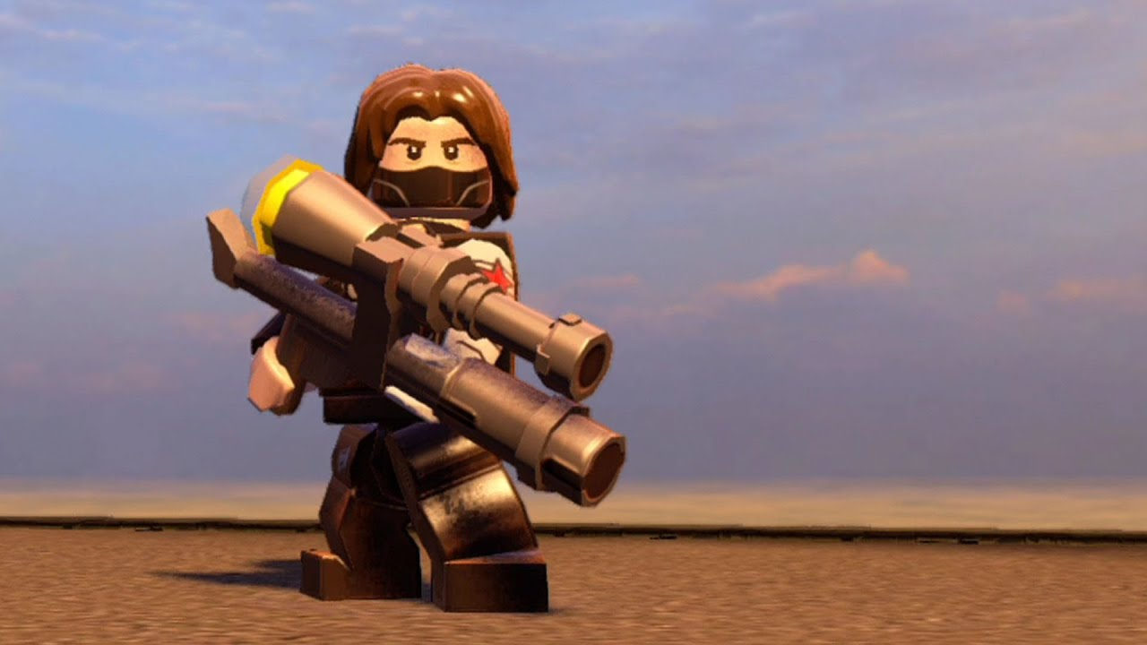 LEGO Marvel's Avengers - Winter Soldier | Free Roam ...