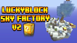 ★Minecraft Xbox 360 + PS3 LuckyBlock SkyFactory V2 - Modded Challenge Map Download★