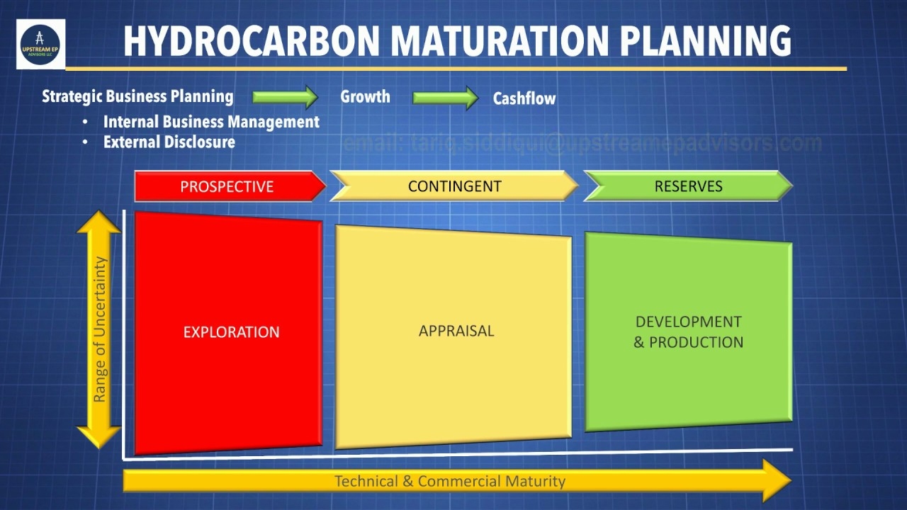 Hydrocarbon Maturation Process:      For Strategic Planning & Business Decisions