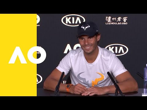 Rafael Nadal press conference 4R | Australoian Open 2019 - YouTube