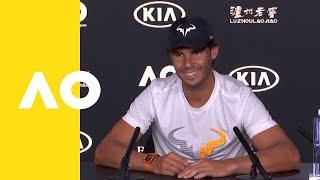 Rafael Nadal press conference 4R | Australoian Open 2019