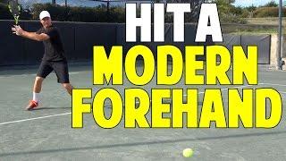 The Modern Forehand In Tennis | Step By Step Keys to Power
