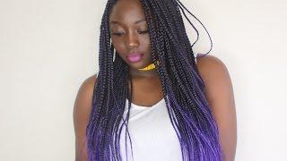 How to: Box Braid Crochet | Beginner Friendly(itch free hair) | Dina Tall