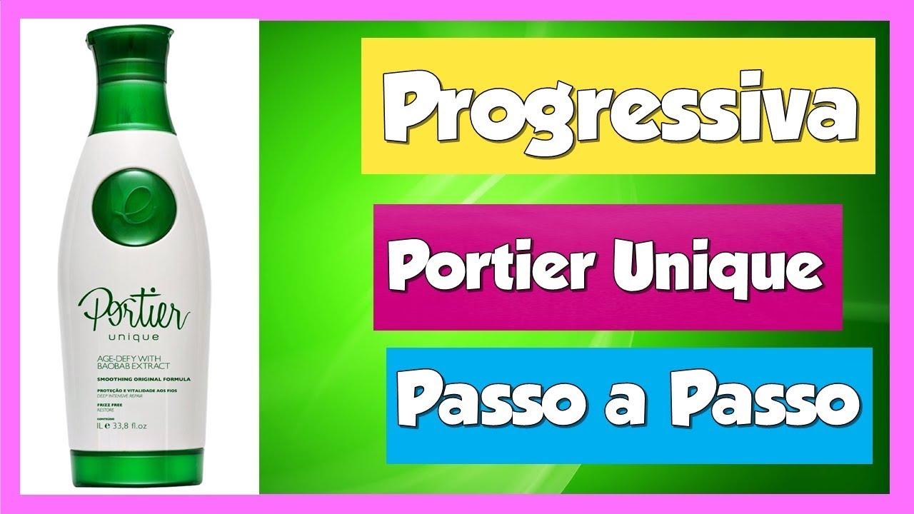 c27f8e500 Escova Progressiva Portier Unique - Sem Formol - Passo a Passo - Adriana  Luna