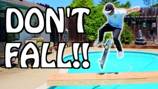 RISKIEST GAME OF SKATE EVER!!!
