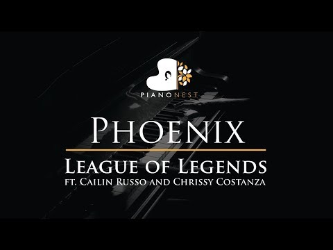 Phoenix - League Of Legends - Cailin Russo, Chrissy Costanza - Piano Karaoke Cover Instrumental