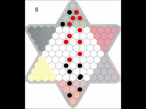 ChineseCheckers__Shortest_Possible_Game__2Players_10Marbles_(15Moves)