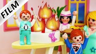Playmobil Film deutsch BRAND BEI SCHNÖSELS EINWEIHUNGSPARTY - Emma zündelt -Kinderfilm Familie Vogel