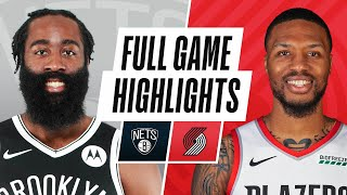 NETS at TRAIL BLAZERS | FULL GAME HIGHLIGHTS | March 23, 2021