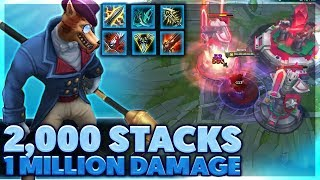 One of BunnyFuFuu's most viewed videos: MOST DAMAGE IN HISTORY   I ACTUALLY 1V5   URF HIGHLIGHTS - BunnyFuFuu