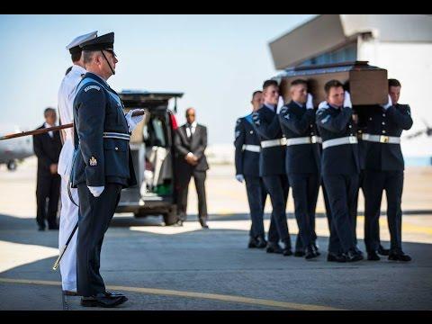 RAF C-17 Arrives Home
