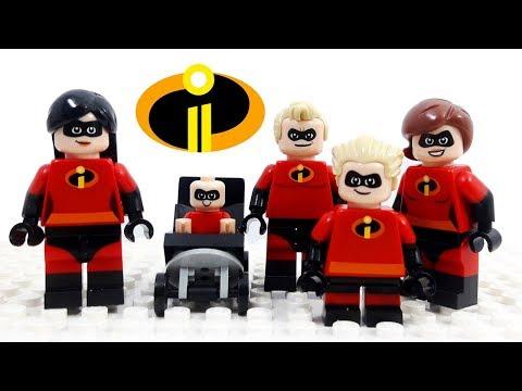 Lego Disney Pixar Incredibles 2