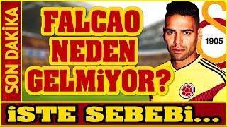 FLAŞ   Falcao Galatasaray'a Neden Gelmiyor? İş