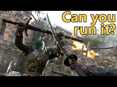 for honor pc system requirements can you run it