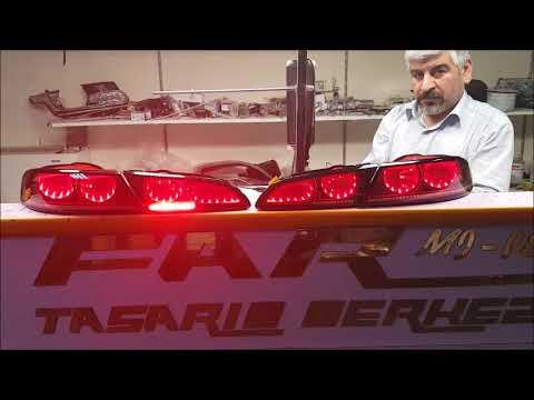 alfa romeo 159 sonsuzluk arka stop backlight headlight design center
