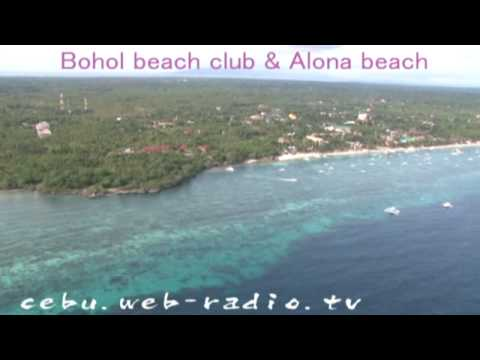 skyview of philippines Bohol alona Balicasag ボホール島空撮