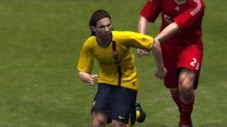 Lionel Messi - Pro Evolution Soccer 2009 DEMO