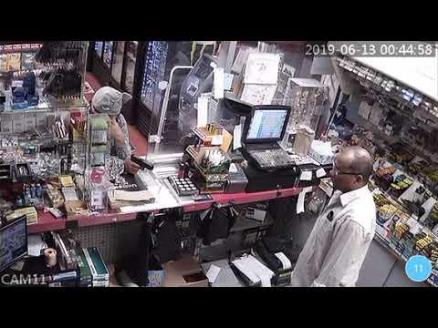Mason Black - Woman in Elephant hat fails at robbing Huntsville gas station