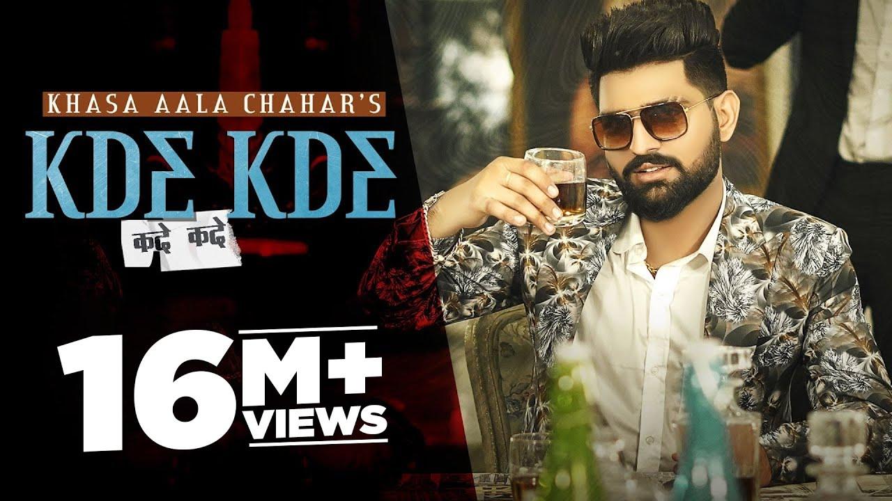 Download Khasa Aala Chahar   Kde Kde (Official Video)   DJ Sky   Latest Haryanvi Songs 2021   Speed Records