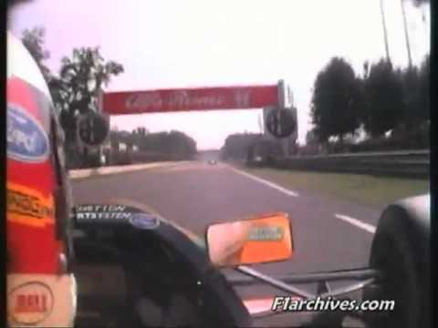 Michael Schumacher onboard from the 1992 Italian Grand Prix