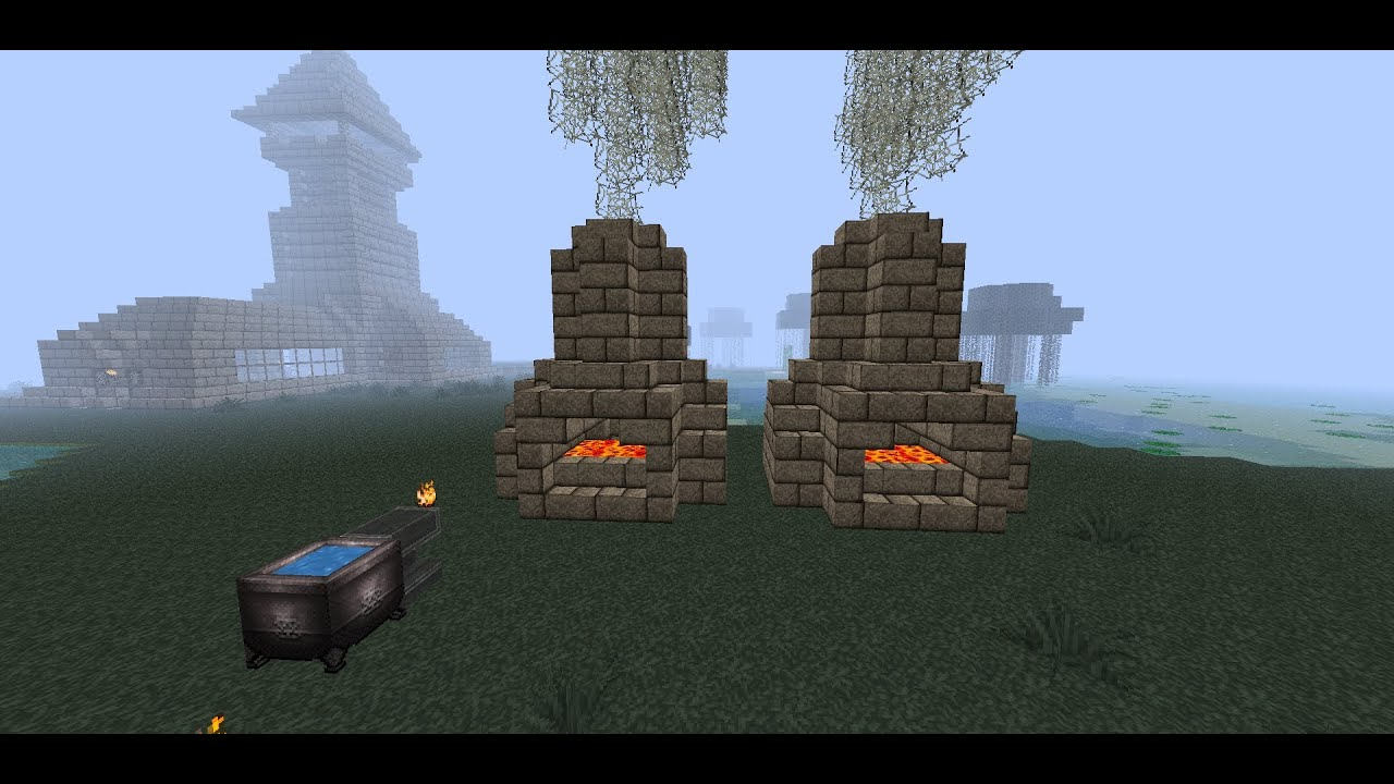 How To Build A Blacksmith Forge In Minecraft