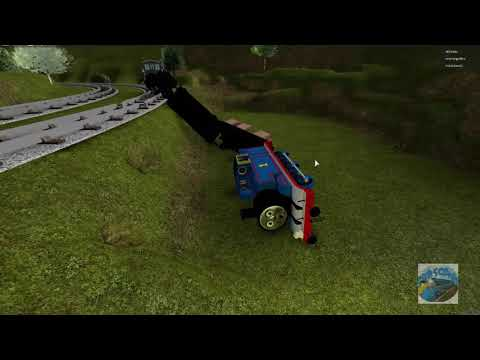 Thomas And Friends The Great Discovery Thomas Derails Roblox!