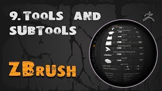 9. ZBrush сабтулы (Subtool & Tools) | Уроки на русском