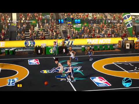 NBA 2K Playgrounds 2: Memphis Grizzlies Vs. Utah Jazz (Season Mode Game 13) |