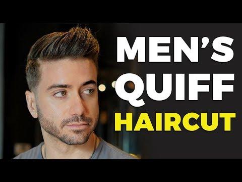 MEN'S QUIFF HAIRCUT & HAIRSTYLE 2019 | Alex Costa Ft. Daniel Alfonso
