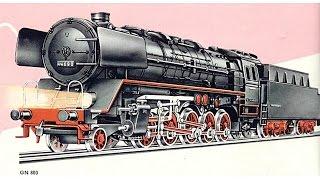 MÄRKLIN 800,GN 800,Br 44,steam loco,dampflok,modelleisenbahn,model trains, HO, vintage, nostalgie