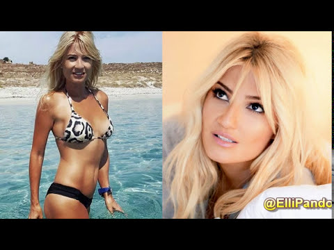 5 Beautiful Greek Celebrities With & Without Makeup! (2017)