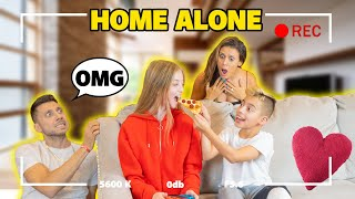 HOME ALONE WITHOUT MY PARENT'S For A NIGHT! (HIDDEN CAMERA) | The Royalty Family