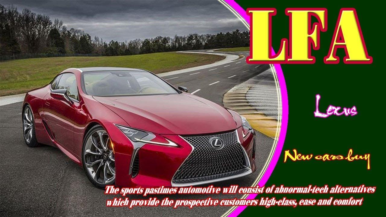 Lexus Lfa 2019