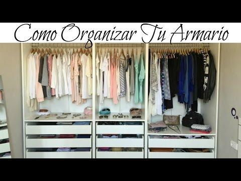 C mo organizar el armario funnycat tv - Como organizar armarios ...
