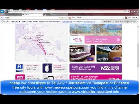 low cost flights to Tel Aviv and Jerusalem
