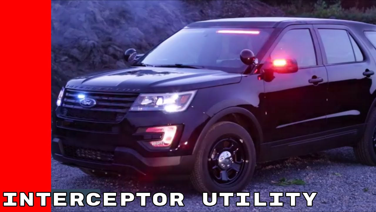 2017 Ford Police Interceptor Utility Youtube