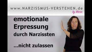 Lass Dich nicht von Narzissten emotional erpressen: Anzeichen in Beziehungen & Tipps
