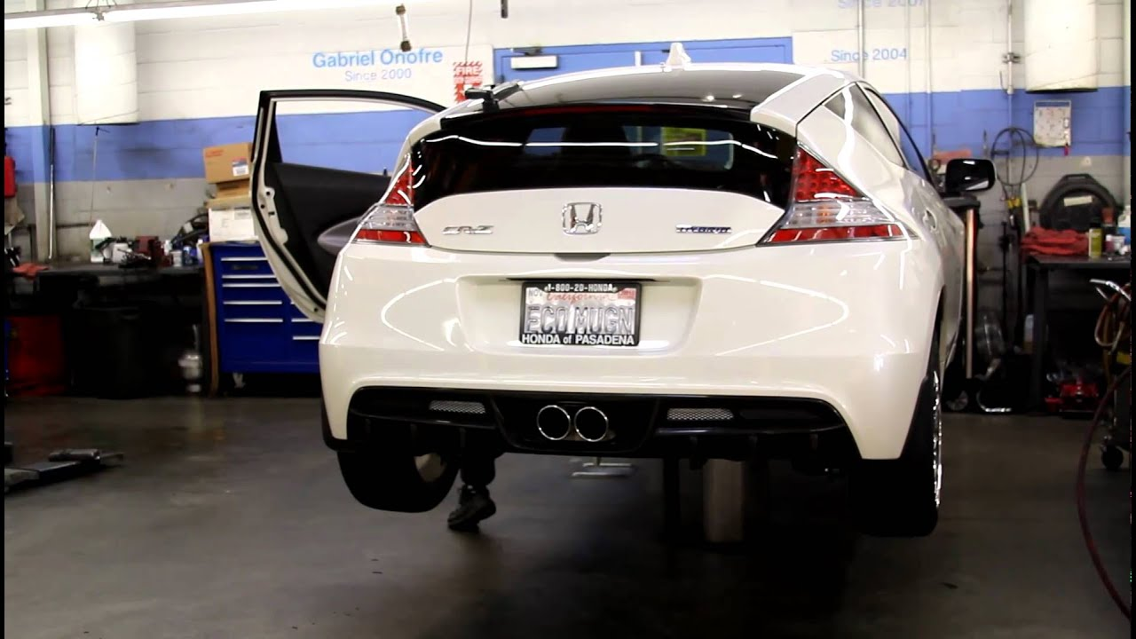 Honda Crz Noblesse Exhaust Youtube