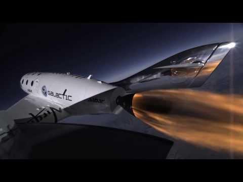 SpaceShipTwo - Wonderful Raw Footage of 3rd Powered Flight 2014