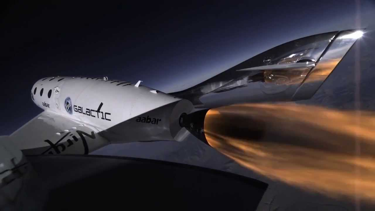 SpaceShipTwo - Wonderful Raw Footage of 3rd Powered Flight ...