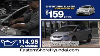 Final Days of Summer Clearance at Eastern Shore Hyundai