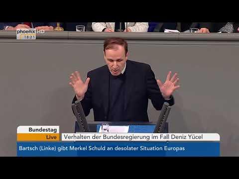 Bundestagsdebatte zum Verhalten der...