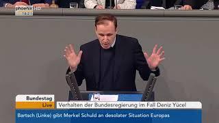 Bundestagsdebatte zum Verhalten der Bundesregierung im Fall Deniz Yücel vom 22.02.18