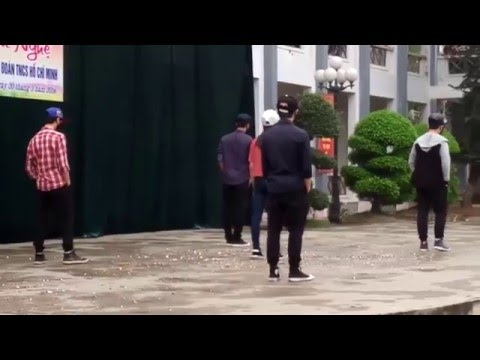 shuffle dance 11A2 đẹp tuyệt diệu trường THPT Cẩm Khê