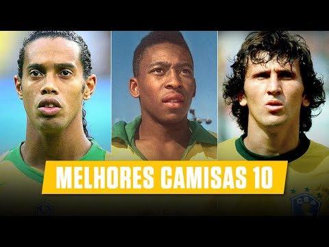 Os 10 melhores CAMISAS 10 da história • Brasileiros