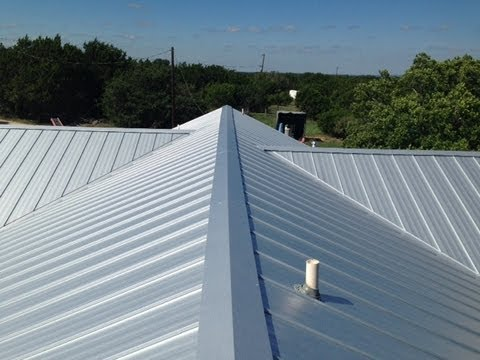 Metal Roof In Dripping Springs By Texas Showcase Roofing