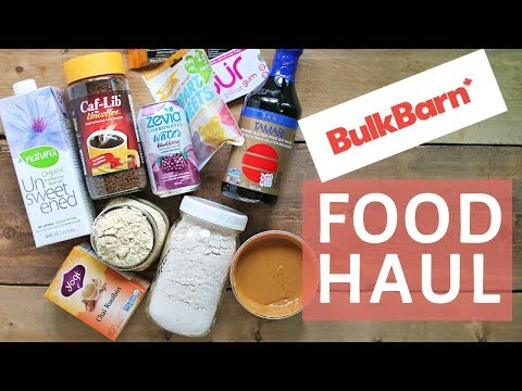 HEALTHY GROCERY HAUL | BULK BARN