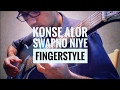 Konse Alor Swapno Niye Instrumental ( Fingerstyle Guitar Solo ) By Anish Mandal video