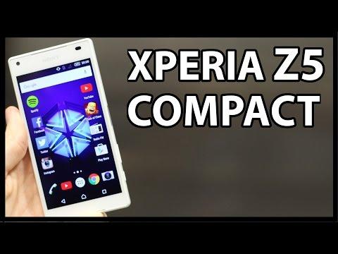 """Xperia Z5 COMPACT - El mejor Android """"pequeño"""""""